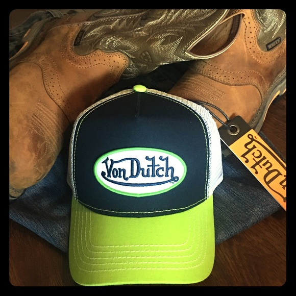 924fd79e Von Dutch Accessories | Trucker Hat Nwt | Poshmark